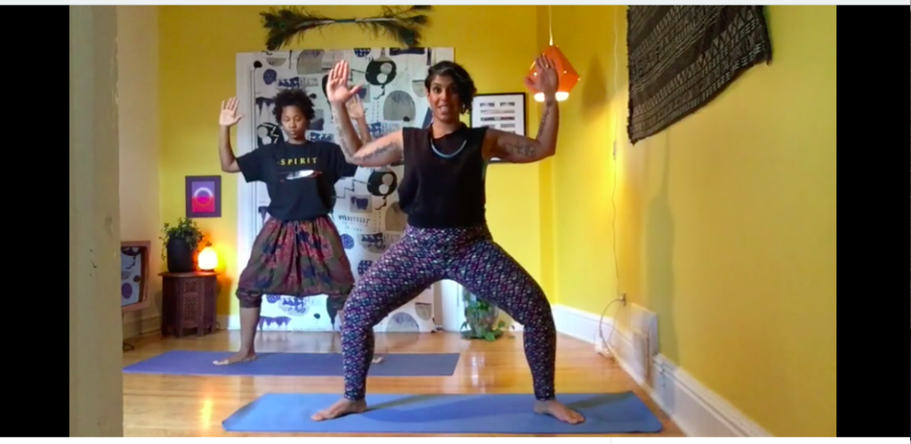 MoonGold Moon Salutation/Chandra Namaskar